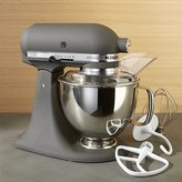 Crate & Barrel KitchenAid ® Artisan Imperial Grey Stand Mixer