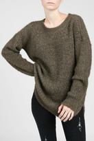 POL Crewneck Tunic Sweater