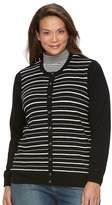 Croft & Barrow Plus Size Button Front Cardigan