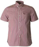 Fred Perry Re-issues Short Sleeved Original Gingham Shirt