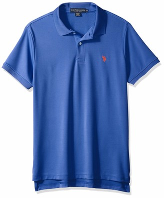 U.S. Polo Assn. Men's Solid Stretch Performance Polo Shirt