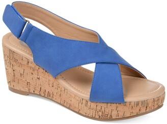 Journee Collection Jenice Wedge Sandal