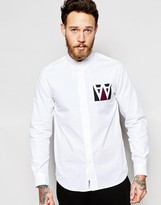 Wood Wood Shirt In Regular Fit With Aa Box Print