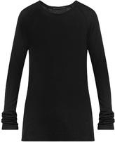 Haider Ackermann Fugazi Ribbed-jersey T-shirt