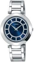 Lorus Womens white dress bracelet watch