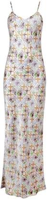 Jessica Russell Flint Maxi Slip Dress Montana Tile