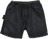 Charlie Rocket Denim Shorts (Baby) - Vintage-3-6 Months