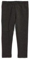Tea Collection Sparkle Stripe Leggings (Baby Girls)