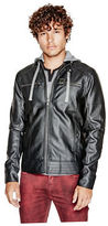 G by Guess GByGUESS Men's Decerto Faux-Leather Jacket