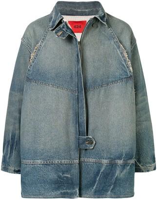 424 Oversized Denim Jacket