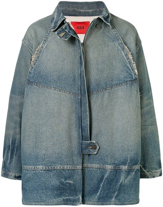 424 Oversized Denim Jacket