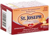 St. Joseph® 36-Count Chewable Aspirin Tablets in Orange