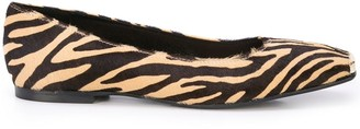Fabio Rusconi Animal Print Ballet Flat