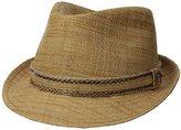 Tommy Bahama Men's Matte Raffia Fedora Hat