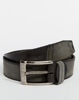 Religion Leather Belt - Black