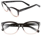 Bobbi Brown Women's The Mulbery 54Mm Reading Glasses - Black/ Pink Crystal