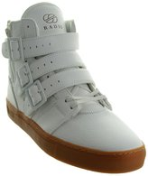 Radii Straight Jacket Vlc Mens White Leather High Top Lace Up Sneakers Shoes 11