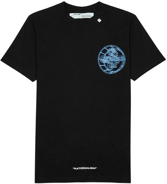 Off-White Crossed Off printed cotton T-shirt