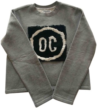 Opening Ceremony Grey Cotton Knitwear