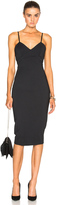 Victoria Beckham Microbrush Cami Fitted Dress