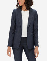 The Limited Chambray Blazer