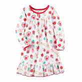 Carter's Girls Long Sleeve Nightgown-Preschool