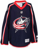 Reebok Boys' Columbus Blue Jackets Replica Jersey
