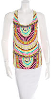 Mara Hoffman Printed Sleeveless Top w/ Tags