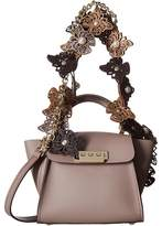 Zac Posen Eartha Iconic Novelty Top-Handle Mini - Butterfly Applique Top-handle Handbags