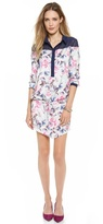 Karolina Floral Shirt Dress