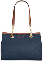 Calvin Klein Quilted Medium Satchel
