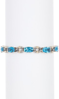 Effy Sterling Silver Blue Topaz Bracelet