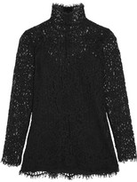 By Malene Birger Solar Guipure Lace Top - Black