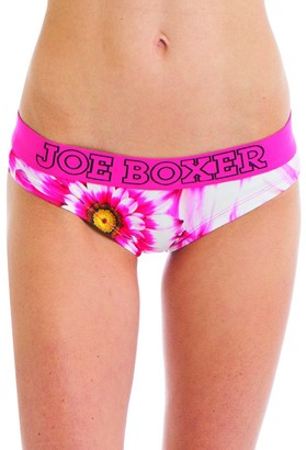 Joe Boxer Women's Sunflower Hipster Underwear