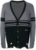 Diesel Kobain distressed cardigan - men - Cotton - L