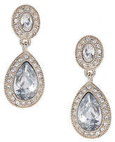 Carolee Double Drop Crystal Earring