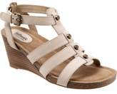 SoftWalk 'Jacksonville' Leather Wedge Sandal (Women)
