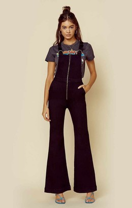 ROLLA'S Eastcoast Flare Overall Denim