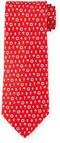 Salvatore Ferragamo Buoy-Print Silk Tie
