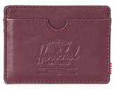 Herschel Men's Charlie Leather Card Case - Red