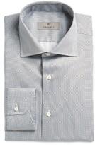 Canali Men's Regular Fit Geometric Dress Shirt