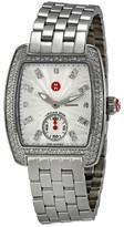 Michele Women's Mini Urban Silver Diamond Watch