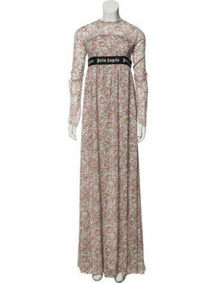 Palm Angels Floral Print Maxi Dress w/ Tags Pink