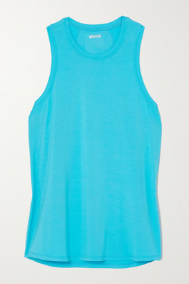 Splits59 Toni Stretch-jersey Tank - Blue