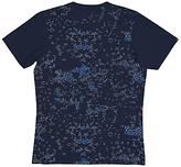 Denham Crypsis Crew Neck T-shirt, Breton Blue
