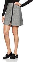 Jaeger Women's Wool Prince of Wales Skirt