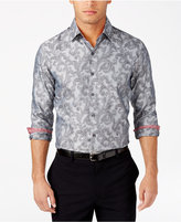 Tasso Elba Men's Classic-Fit Printed Shirt, Only at Macy's
