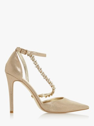 Dune Diazz Pointed High Heel Court Shoes