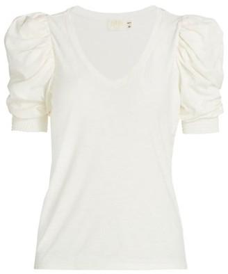 Nation Ltd. Celine Puff-Sleeve T-Shirt
