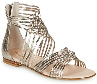Fru.it LIEVITO women's Sandals in Gold